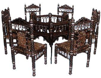 Dining Room Table Set Sankheda Furniture Bed