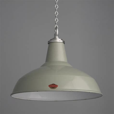 Vintage Industrial Pendant Lighting By Thorlux Skinflint