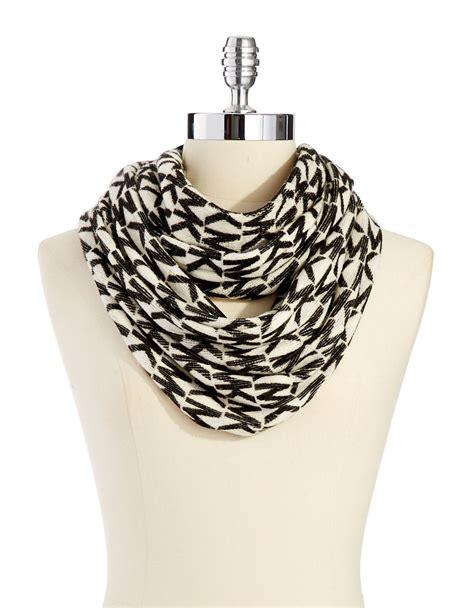 michael kors infinity scarf michael michael kors logo infinity scarf in beige