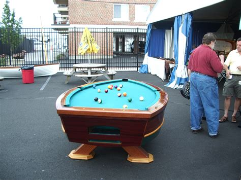 Water Pool Table by Boats