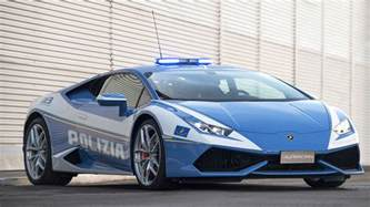 lamborghini delivers a new hurac 225 n polizia to the italian