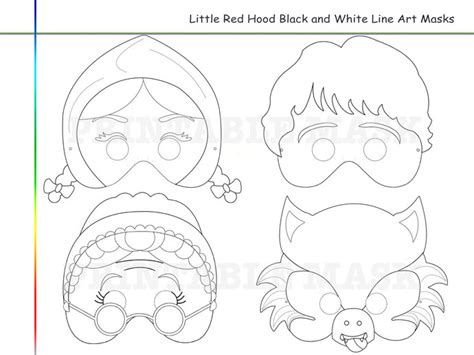 coloring pages little red riding hood holidaypartystar