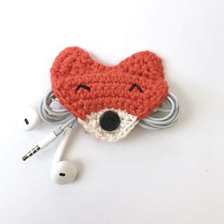 pattern for cord holder ravelry clever fox cord holder pattern by charissa pray
