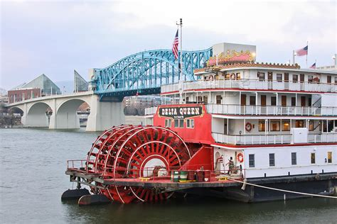 chattanooga paddle boat delta queen in chattanooga photograph by tom and pat cory