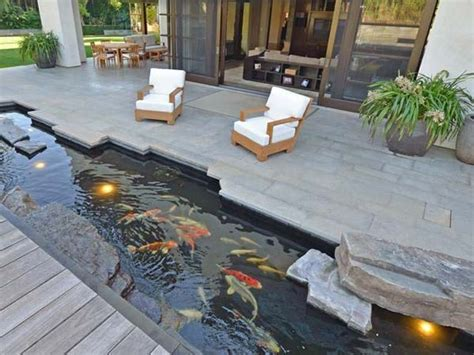 Pond Deck Designs by 22 Small Garden Or Backyard Aquarium Ideas Will Your