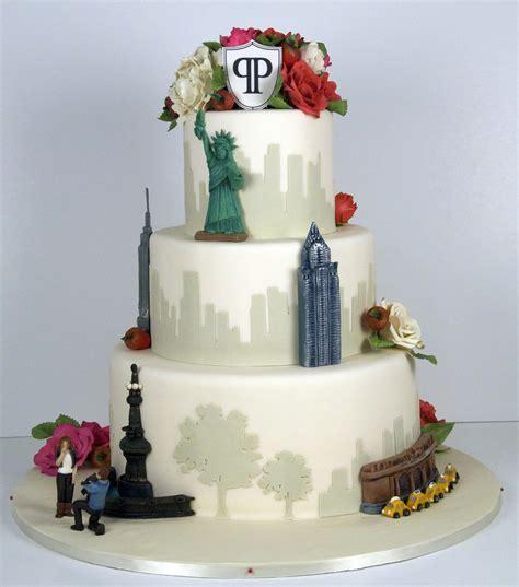 Nyc Skyline Wedding Cake   CakeCentral.com