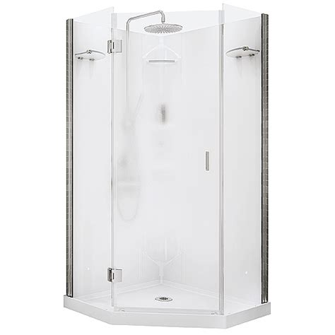 rona bathroom showers daylight neoangle shower rona