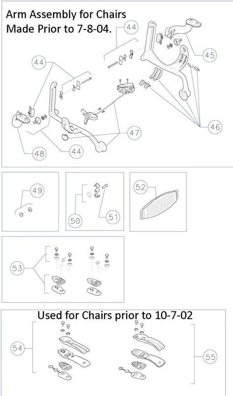Herman Miller Aeron Chair Parts by Herman Miller Aeron Home Office Ergonomic Chair Parts