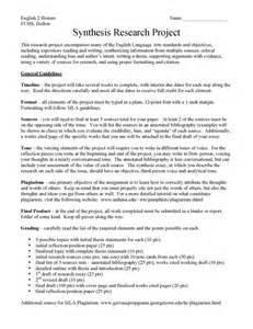 Is A Research Paper An Essay by Fjuhsdlibraries Synthesis Research Project Hollon