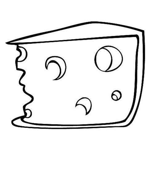 cheese coloring clipart best