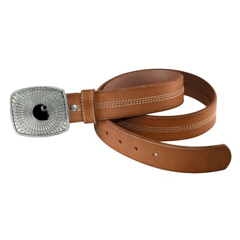 carhartt leather logo belt for
