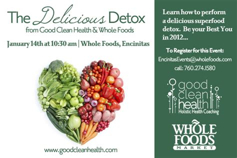 Detox Whole Foods by Category Archive For Quot Events Quot Clean Health