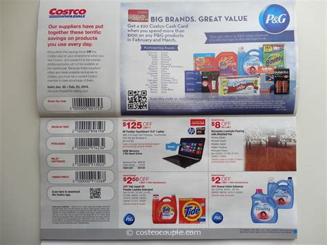 Costco Gift Card Discount - costco february 2014 coupon book 01 30 14 to 02 23 14