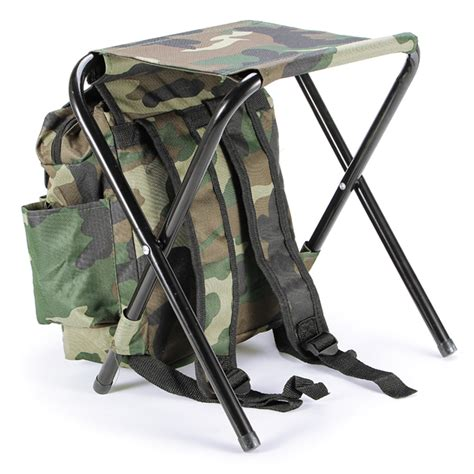 Folding Stool Outdoor by Fishing Chair Outdoor Portable Folding Stool Backpack