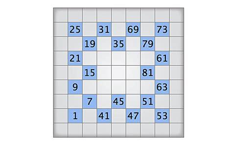 printable numbrix puzzles parade image gallery numbrix