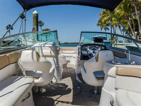 used boats fort myers 2012 four winns h260 used boats for sale fort myers florida