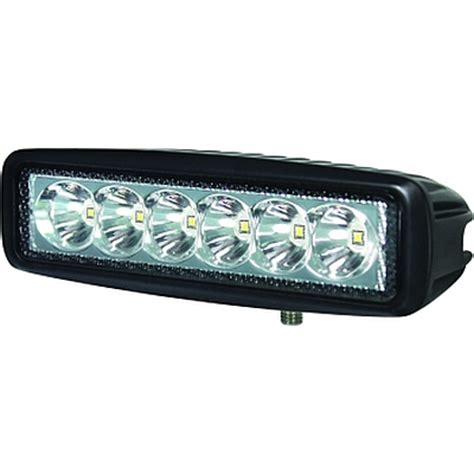 Hella Valuefit Mini Light Bar 6 Led 6 Quot Rally Lights 6 Led Light Bar