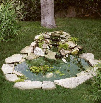Garden Pond Kits - pond kit w 3 tier cascade 3 x 4 patio lawn