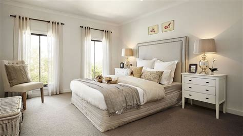 Visualization For Family House With Cream Color Interior Bedroom Designs Australia
