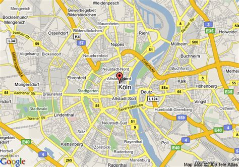 map of koln germany map of cologne cologne