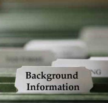 background information background information