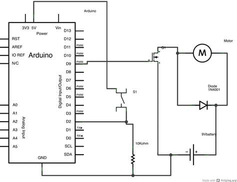transistor npn motor arduino transistormotorcontrol
