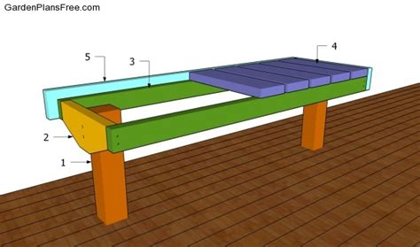 bench on deck bench plans for decks plans diy free download wooden storage carts on wheels