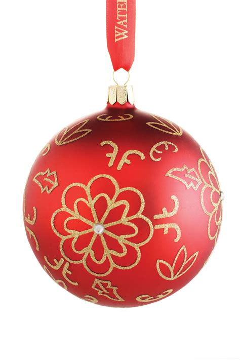 waterford mini heirloom ornaments waterford heirloom flower burst ornament