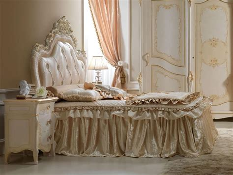 perla bed carved wooden bed for luxury bedrooms idfdesign
