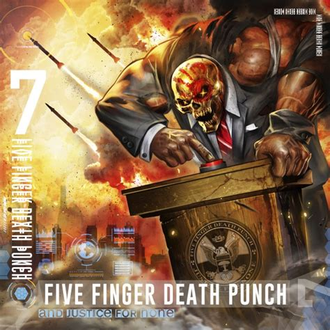 five finger death punch covers five finger death punch to release and justice for none