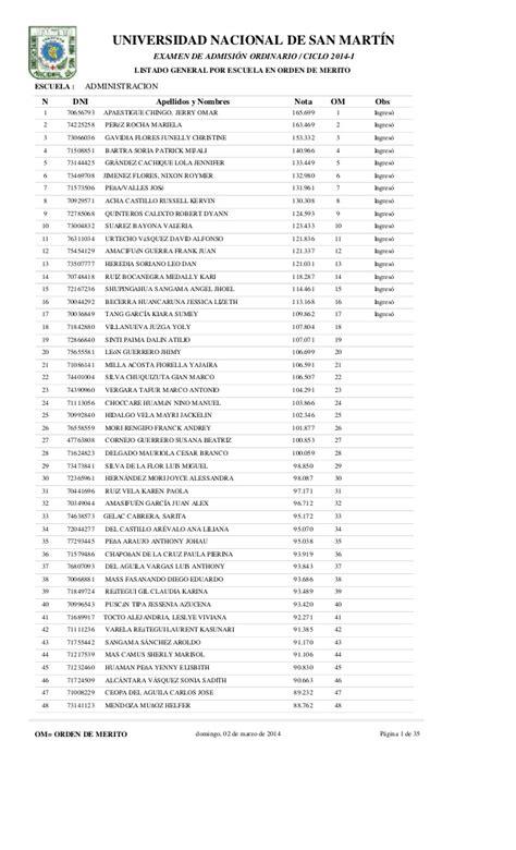 resultados examen de admision unjfsc modalidad ordinario 2015 resultados admision newhairstylesformen2014 com