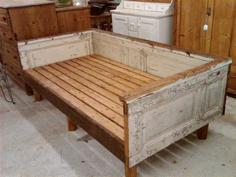 Daybed Made From Antique House Parts Love Nikki Wooden Outdoor Daybed Furniture
