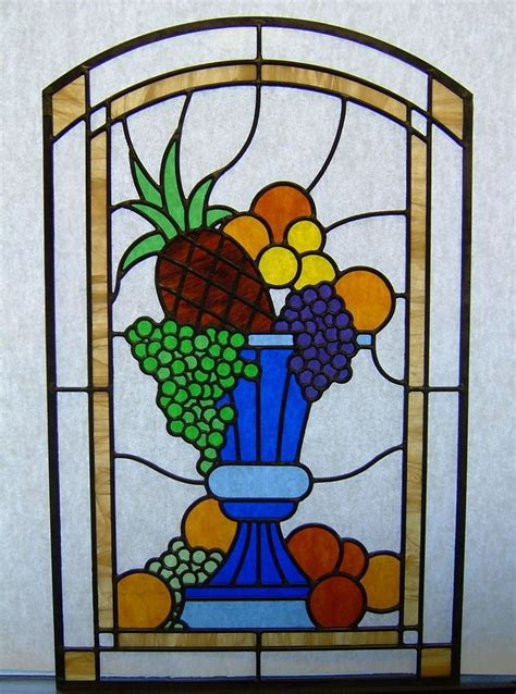 glass designs 17 best images about food drinks stained glass on