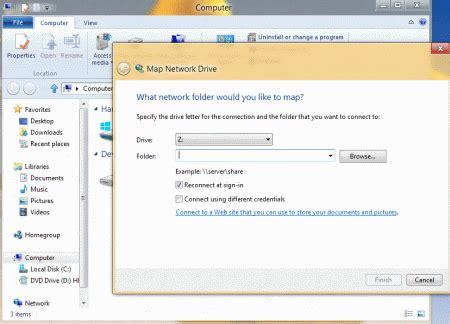 map network drive  windows