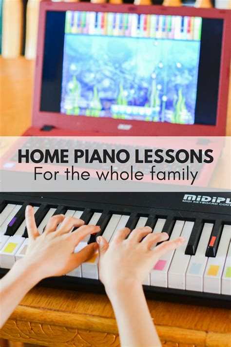 game boy keyboard tutorial home piano lessons for the whole family