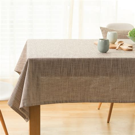Linen Table Cloth by Japanese Cotton Linen Tablecloth Plain Table Cloth Zen
