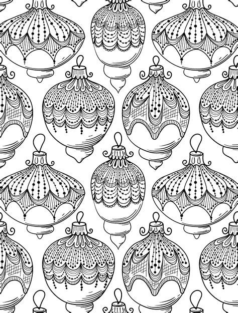 printable coloring pages adults christmas 10 free printable holiday adult coloring pages