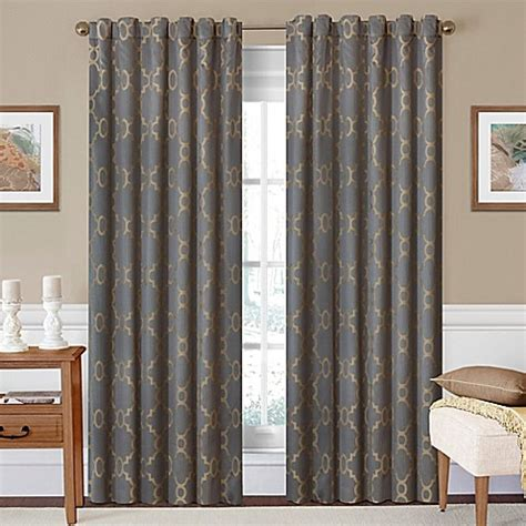 95 inch curtain rod buy solarshield 174 oasis 95 inch rod pocket back tab room