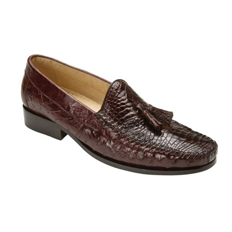 brown tassel loafers belvedere bari caimain ostrich tassel loafers brown