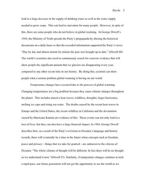 Polar Extinction Essay by 1984 Global Warming Essay