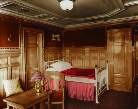 titanic first class titanic in color photos of one of the largest passenger