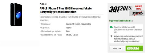 hetvegi orueletes apple akciok  media marktban tech hirek