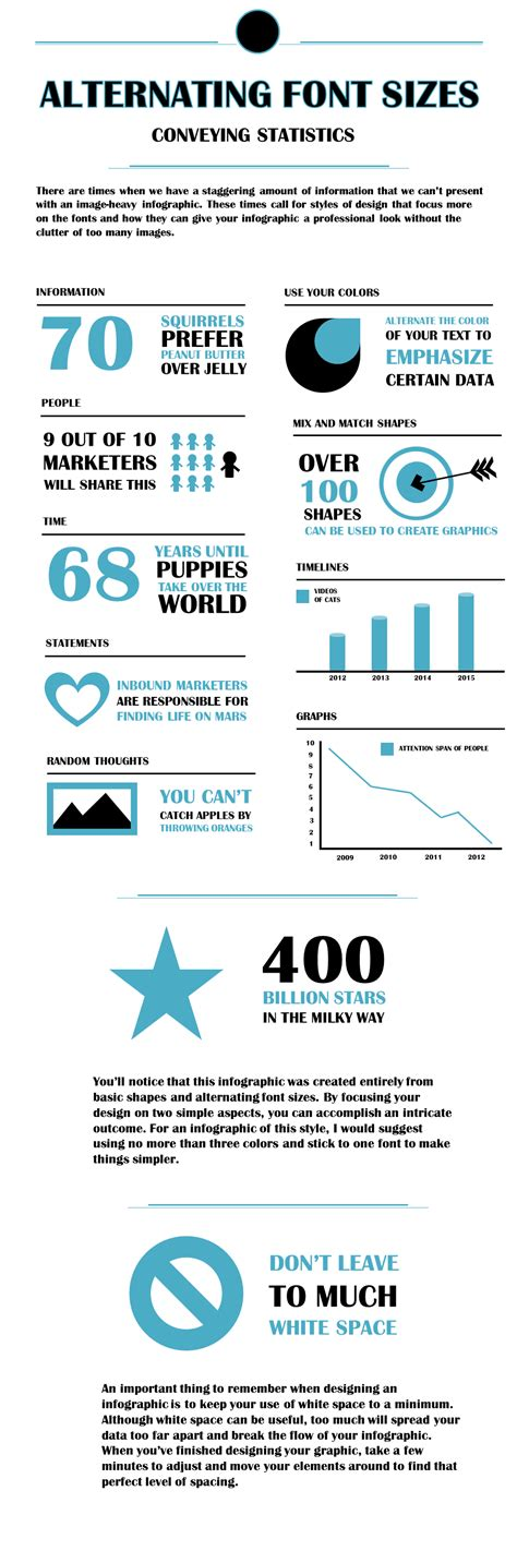 5 infographics to teach you how to easily create