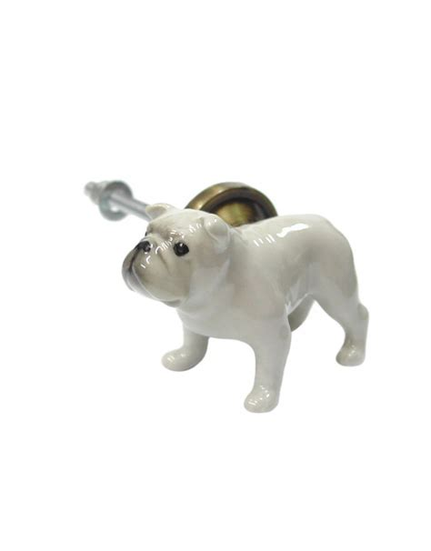 Animal Door Knobs by Hearts And Crosses Painted Porcelain Animal