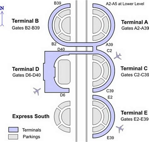 dallas airport map dallas airport terminal map