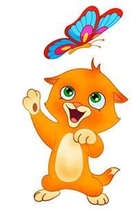 el gato dibujo color imagui