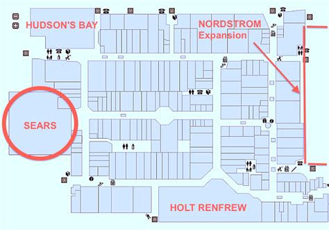 yorkdale mall floor plan la maison simons in talks to open two toronto stores