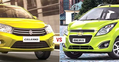 Suzuki Celerio Vs Chevrolet Spark Hatches At Loggerheads Maruti Celerio Vs Chevrolet Beat