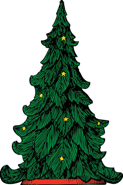clipart christmas tree