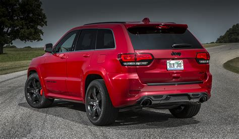 jeep red 2015 jeep grand cherokee wk2 2015 srt8 red vapor edition